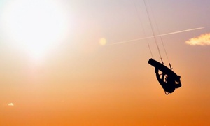 West Michigan Kiteboarding: $175 for a Three-Hour Kiteboarding Lesson at West Michigan Kiteboarding ($350 Value)
