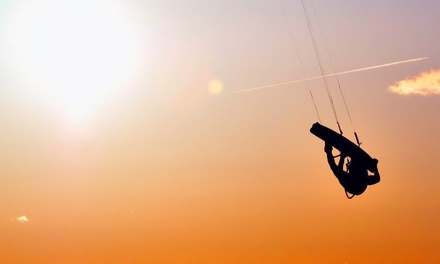 $175 for a Three-Hour Kiteboarding Lesson at West Michigan Kiteboarding ($350 Value)