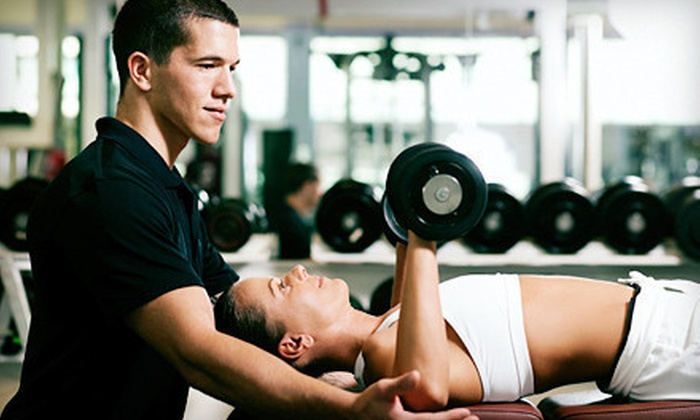 The Club Lafayette - Downtown Lafayette: Four Weeks of Personal Training with Two or Three Sessions per Week at The Club Lafayette (Up to 75% Off)