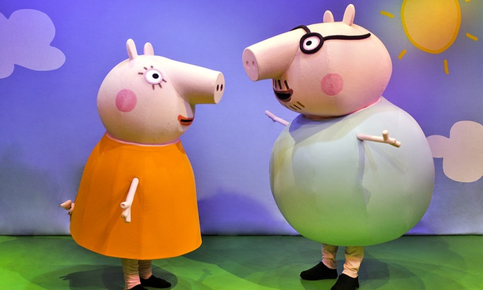 "Peppa Pig Live! - Comerica Theatre: ""Peppa Pig's Big Splash!"" on February 18 at 6 p.m."