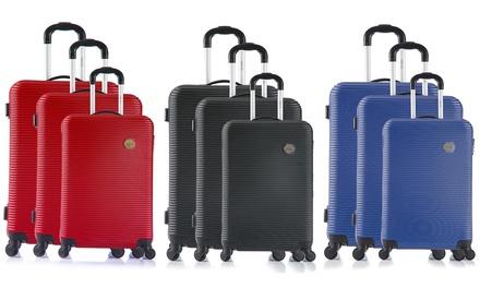 ed4b4d88c621c Vanity case et ou set de 3 valises en ABS Infinitif Paris