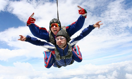 One or Two Tandem Skydives, Each with T-Shirt from Skydive Baltimore (Up to 47% Off)