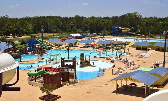 Splash Kingdom Waterparks - Splash Kingdom Shreveport: Visit for Two or Four with Combo-Meal Vouchers at Splash Kingdom Waterparks (Up to 35% Off)