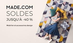 Made.com: Mobilier, décoration, accessoires design... jusqu'à 40% de réduction valable sur le site Made