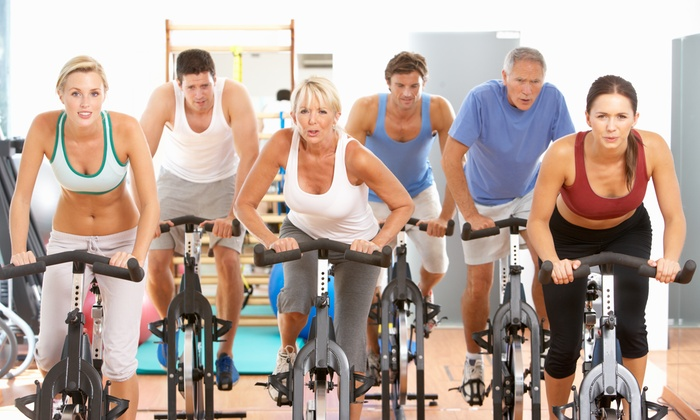 Off The Saddle - Crestline Area: Four Weeks of Unlimited Spinning Classes at Off The Saddle Spin (65% Off)