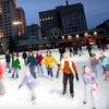 $10 for Ice Skating with Skate Rental for Two