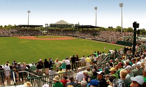 Bradenton Marauders: $16 for a Bradenton Marauders Baseball Package with Hot Dogs and Drinks for Two at McKechnie Field ($38 Total Value)
