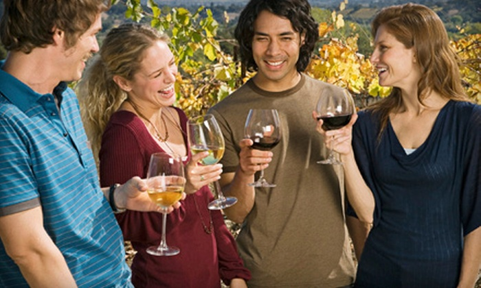 Fazeli Cellars - Old Town Temecula: Wine Tastings for Two or Four with Souvenir Wine Glasses and Bottle of Wine at Fazeli Cellars (Up to 56% Off)