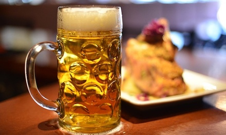 Gastro Pub Cuisine and Drinks for Two or Four at The Pourhouse Bier Bistro (43% Off)