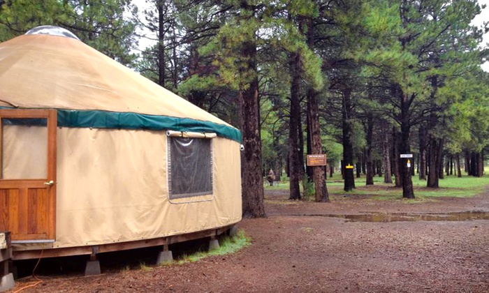 Off Grid Getaways at Flagstaff Nordic Center - Highway Marker 232: 2-Night Stay in a Cabin or Yurt for Two at Off Grid Getaways at Flagstaff Nordic Center (Up to 50% Off)
