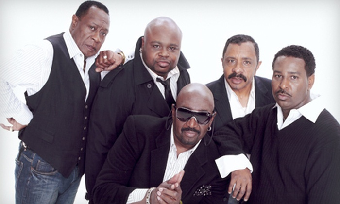 The Temptations and Four Tops - Bergen Performing Arts Center: The Temptations and Four Tops Concert at Bergen Performing Arts Center on May 9 at 8 p.m. (Up to 51% Off)