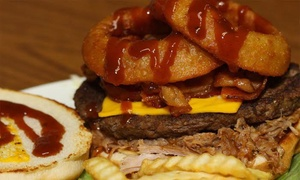 Big Johns Shake Shack: Burgers and Shakes for Two or Four or More at Big John's Shake Shack (Up to 43% Off)