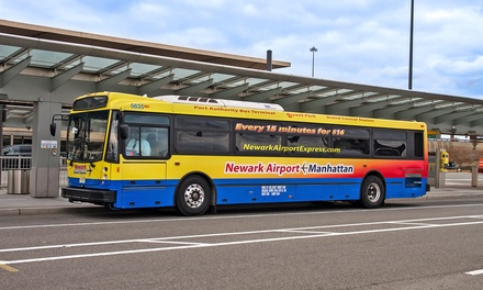 One-Way or Round-Trip Transportation to or from Manhattan from Newark Airport Express (Up to 32% Off)