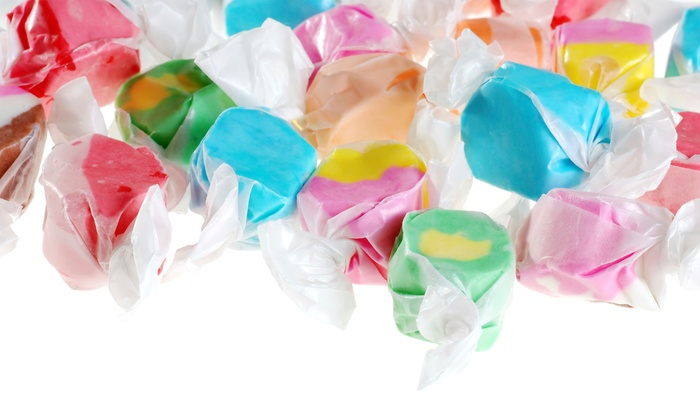 Candy Land - Central Sacramento: $12 for $20 Worth of Saltwater Taffy at Candy Land