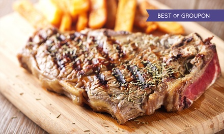 Two-Course Dinner for Two or Four at MPW Steakhouse Bar & Grill Cambridge (48% Off)