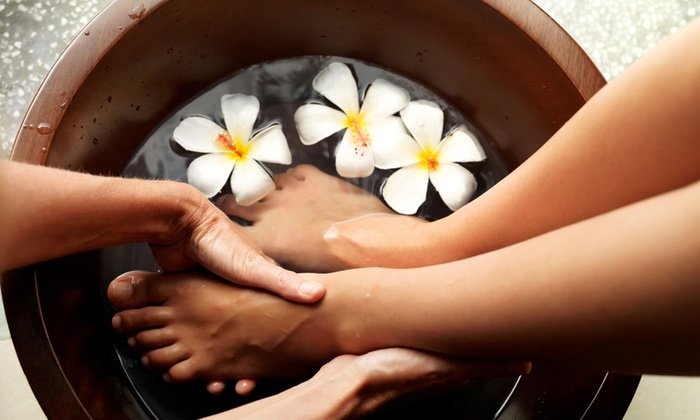 Pamela at Village House Spa - Clemmons: Up to 50% Off Mani-Pedi at Pamela at Village House Spa