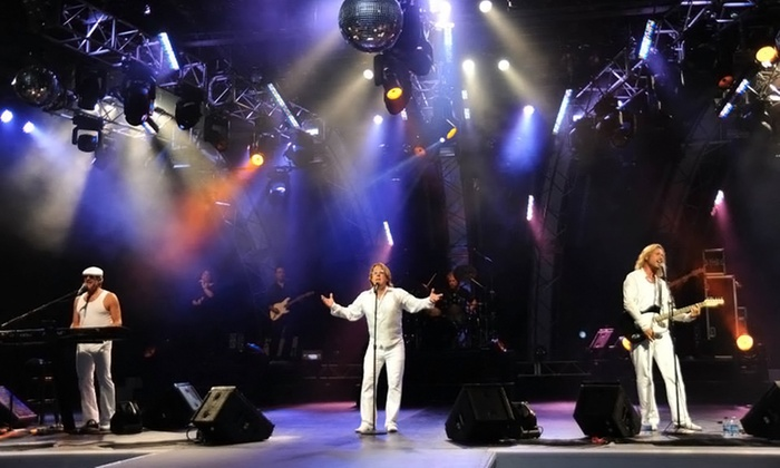 """The Survivors Swing Band, Red Satin Band, or """"Stayin Alive"""" Bee Gees Tribute Show - Trinity On Main: Stayin' Alive, the Bee Gees Tribute Show (Up to 45% Off)"""