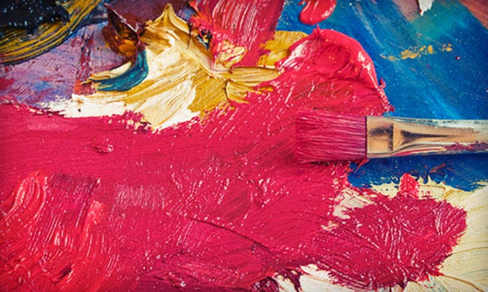 Sip-n-Doodle - Multiple Locations: BYOB Painting Class for One, Two, or Four at Sip-n-Doodle (Up to 51% Off)