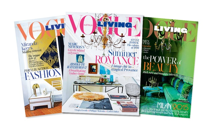 1 year vogue living subscription groupon goods