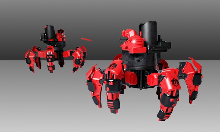 Attacknid Battling Spider Remote-Control Toy Robot: Attacknid Battling Spider Remote-Control Toy Robot. Free Returns.