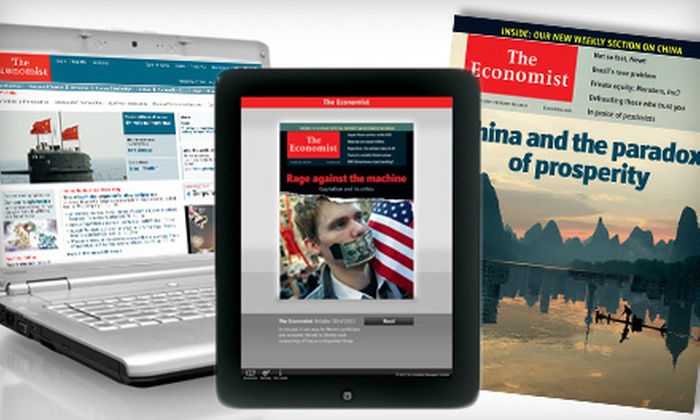 """The Economist"" - Piedmont Triad: $59 for 51-Issue Subscription to ""The Economist"" ($126.99 Value)"