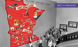 Minnesota Historical Society: Individual Plus or Household Plus Membership to Minnesota Historical Society (Up to 48% Off)
