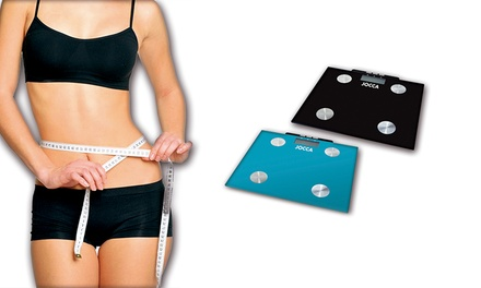 Jocca Body Fat Digital Scales in Black or Blue for £13.99