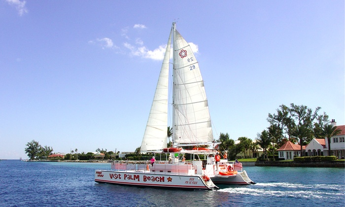 Visit Palm Beach - Downtown West Palm Beach: BYOB Sunset Cruise or Narrated Sightseeing Cruise for One, Two, or Four from Visit Palm Beach (Up to 50% Off)