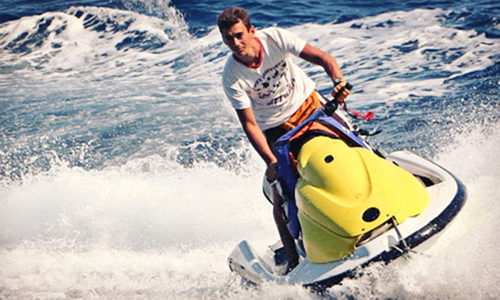 Jet2Miami - Virginia Key: One-, Two-, or Four-Hour Jet-Ski Rental for Up to Two People at Jet2Miami (Up to 59% Off)