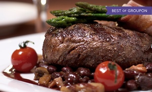 Scotch 'n Sirloin: $17 for $30 Worth of Steakhouse Dinner for Two or More at Scotch 'n Sirloin