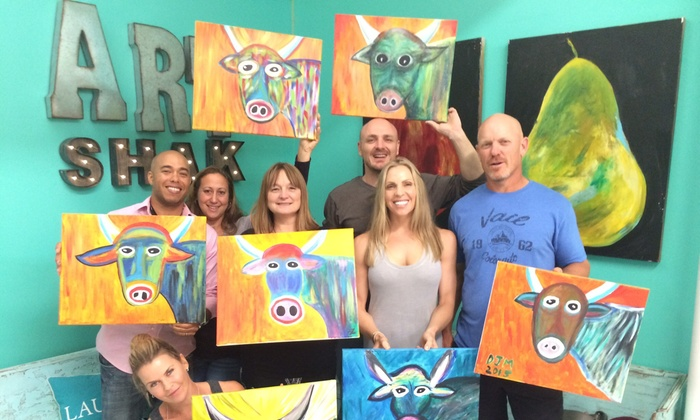 Art Shak - Jupiter: Up to 46% Off Paint and Sip  at Art Shak