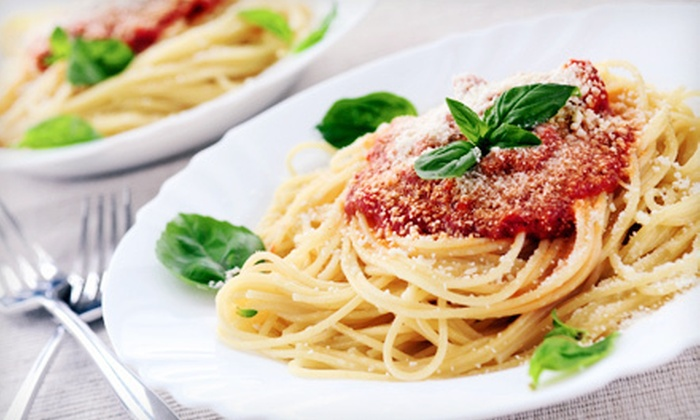 Kinsey's Italian Cafe - McCordsville: Italian Meal for Two or Four at Kinsey's Italian Cafe in McCordsville (Up to 53% Off)