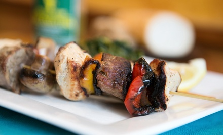 Receive 15% off when ordering $50 or more for lunch at Baladna Restaurant & Lounge