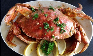 Crawfish Factory: Seafood Dinner for Two or Four People at Crawfish Factory Seafood Restaurant (Up to 28% Off)
