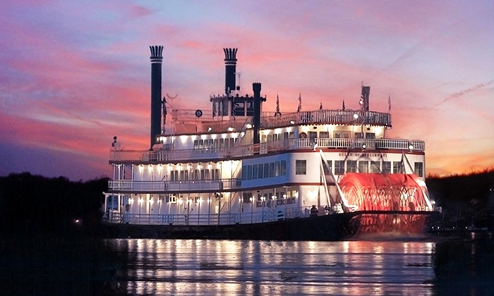 BB Riverboats - Belle Of Cincinnati: Kentucky Derby Steamboat Race for an Adult, Senior, or Child on April 29 from BB Riverboats (40% Off)