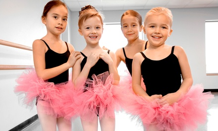 Eight Weeks of Preschool Dance, Parent and Me Gymnastics, Trampoline or Cheer Classes at Team OC (Up to 72% Off)