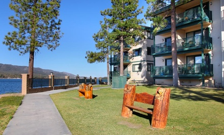 Stay at Lagonita Lodge in Big Bear Lake, CA. Dates into June.