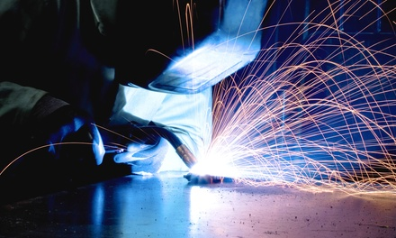 Welding Stone Class for One or Two with Wine at Vesper College (Up to 71% Off)