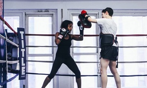 Strike'ng Fitness: $35 for $100 Worth of Boxing Lessons — Strike'ng Fitness