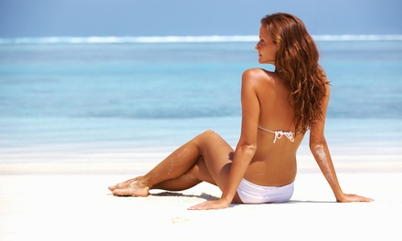 One or Two Full-Body Spray Tans or Original Spray Tans at Zen Bronze Healthy Tanning (Up to 57% Off)