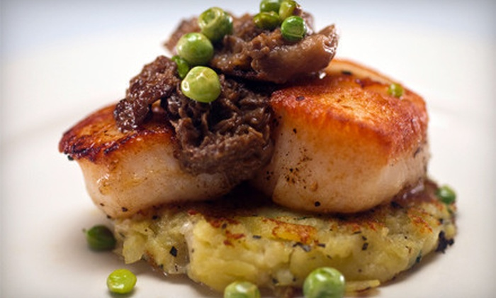 Bistro Ten 18 - Upper West Side: $39 for Upscale American Dinner with Appetizers for Two at Bistro Ten 18 ($85 Value)