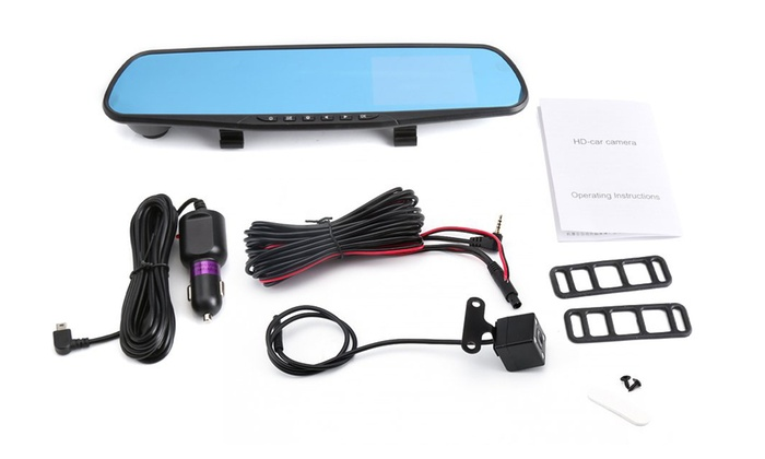 Up To 50% Off on AE Dashcam and Rearview Camera | Groupon Goods
