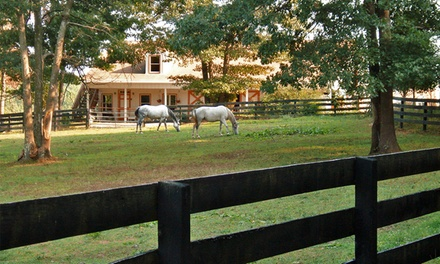 Groupon Deal: 1- or 2-Night Stay for Two with Optional Winery or Cooking Packages at Cheesecake Farms Bed & Breakfast in Sumerduck, VA