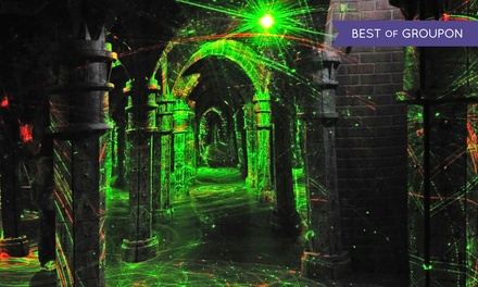 Maze Visit and Games for Two, Four, or Eight at Amazing Chicago's Funhouse Maze on Navy Pier (Up to 62% Off)