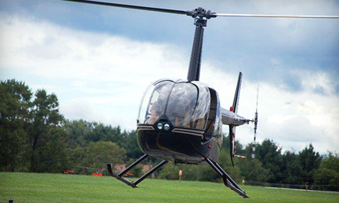 Sky River Helicopters - Multiple Locations: Beginner Helicopter Flight Lesson for One or Two at Sky River Helicopters (Up to 54% Off)