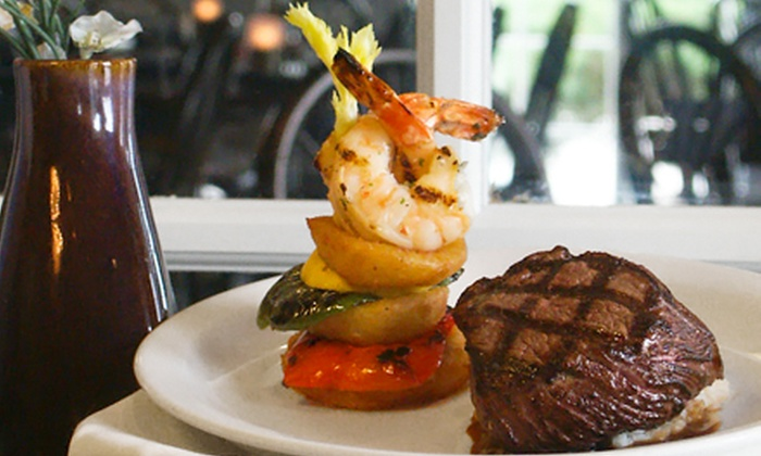 The Library Restaurant & Pub - Park Fletcher: $40 for $80 Worth of Fine American Cuisine at The Library Restaurant & Pub