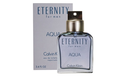 Calvin Klein Eternity Aqua Eau de Toilette for Men (3.4 Fl. Oz.)