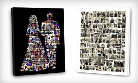 $30 Groupon for Digital Photo-Collage Prints - ScrapWalls in