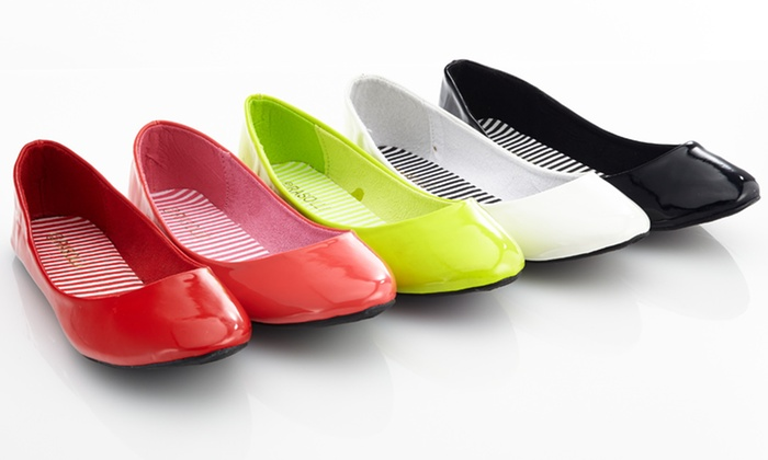 Rasolli Patent Flats: $19.99 for Rasolli Patent Flats ($39.99 List Price). 5 Colors and 10 Sizes Available. Free Shipping and Returns.