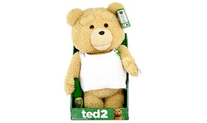 Peluche parlante Ted 2 adultes